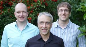 The Limbus Team: Dr. Stefan Leye, Dr. Ben Liesfeld (CEO), Dr. Roland Ewald